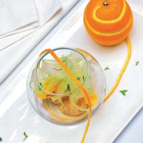 Receta para aumentar la fertilidad: ensalada de naranja y apio