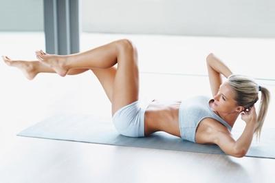 Ejercicios para la fertilidad: fortalecer abdomen y espalda