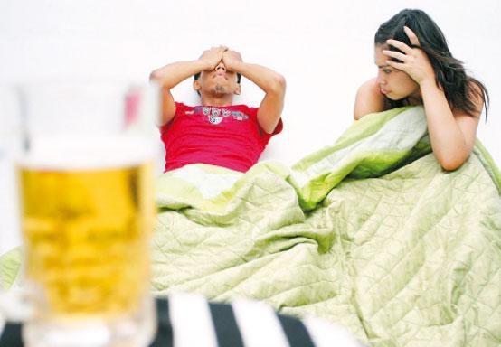 Problemas de fertilidad: alcohol