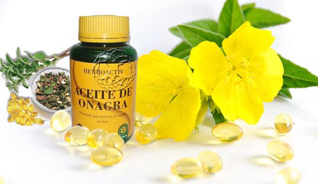 Productos para la fertilidad: aceite de onagra